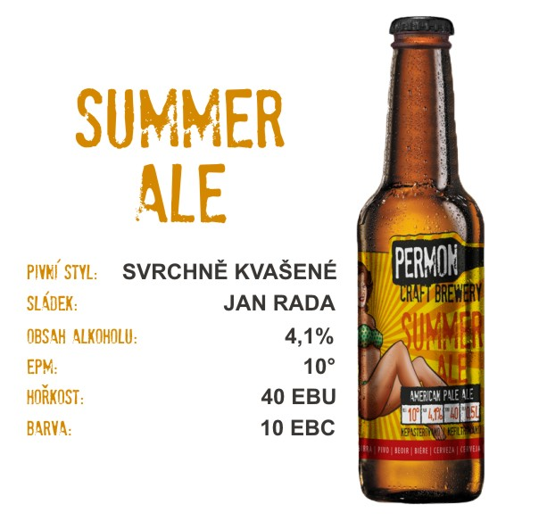 Summer ALE 10° 0,5l